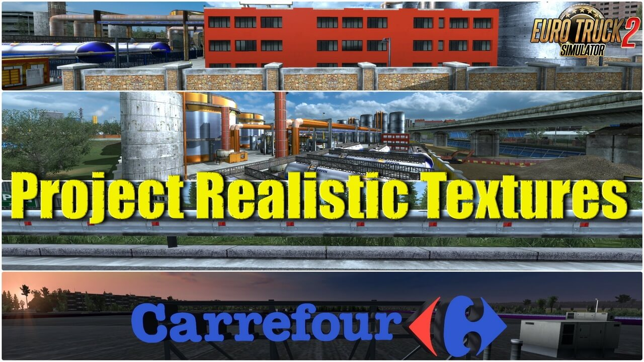 Project Realistic Textures v1.1 By MG media Graphics (1.38.x)