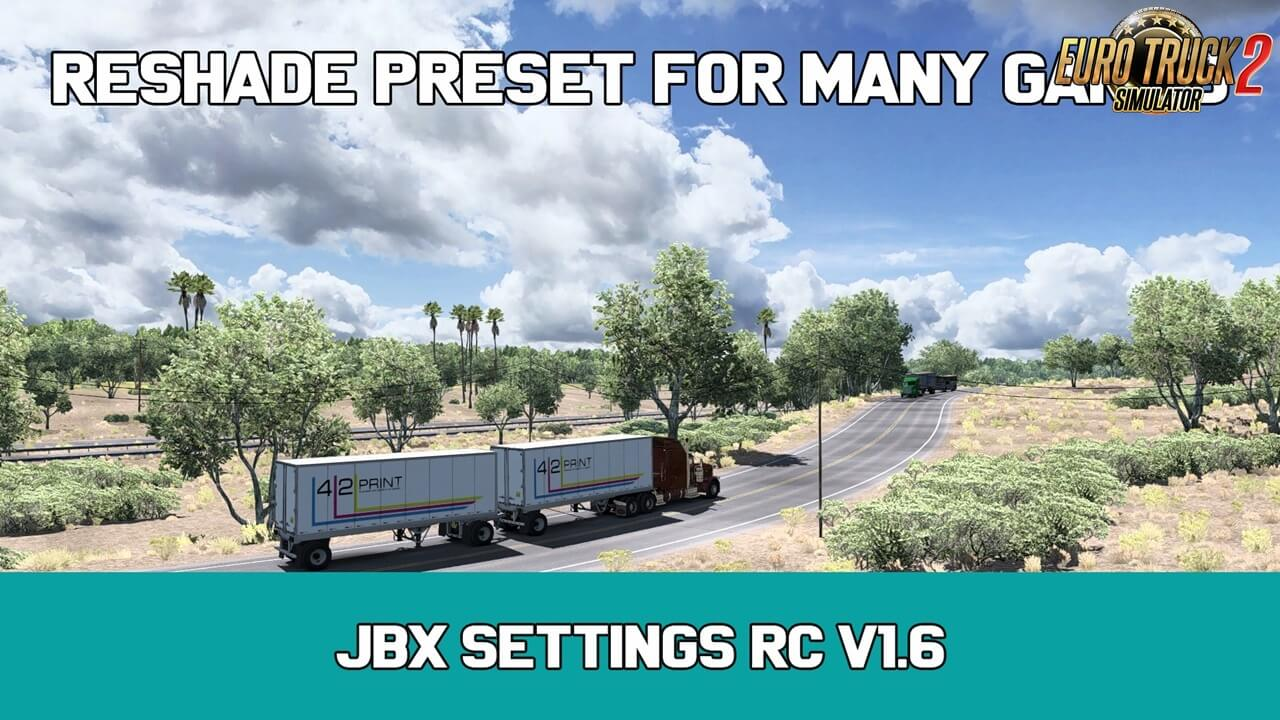 JBX Settings RC v1.6 (Reshade and SweetFX) (1.36.x)