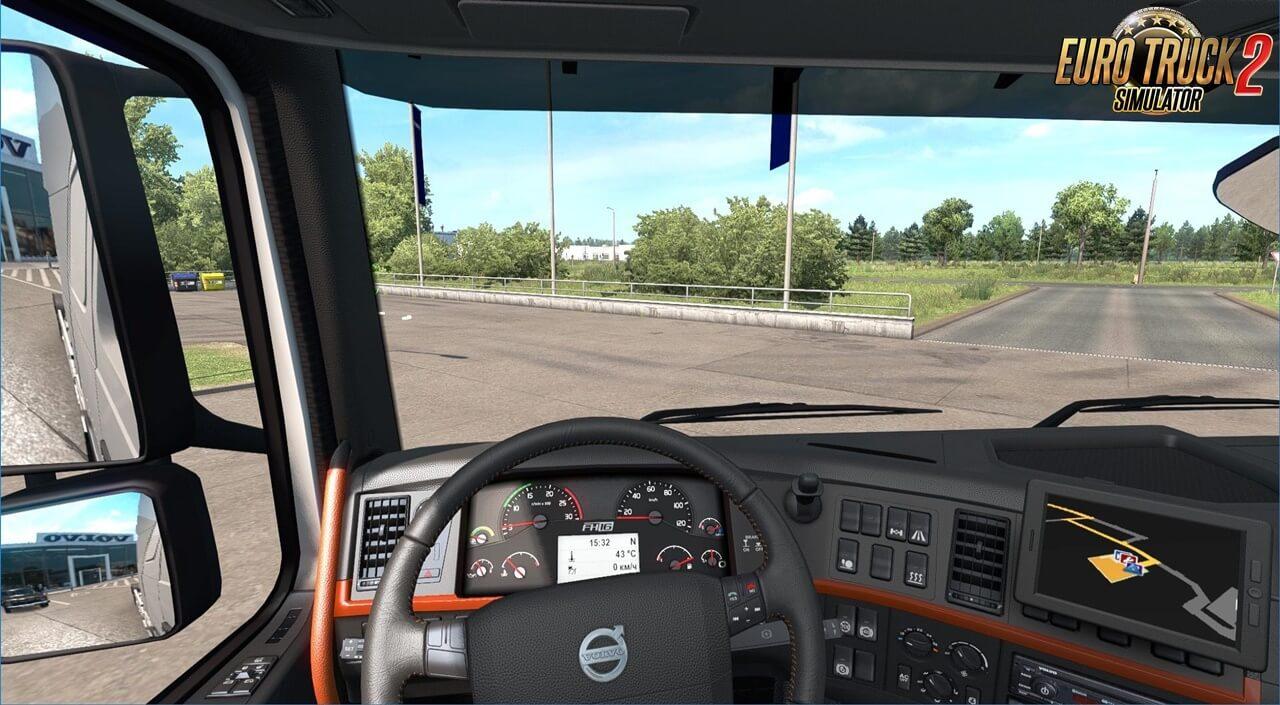 Interior for Volvo FH 2009 (1.37.x)