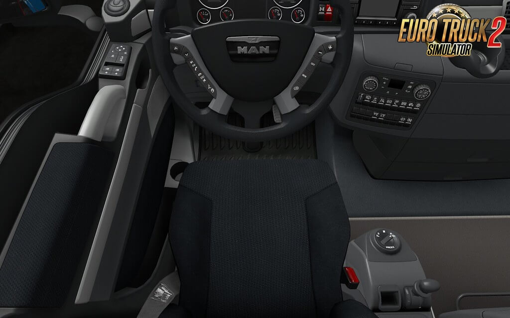 MAN TGX Euro 6 SCS Interior Improvements by retro