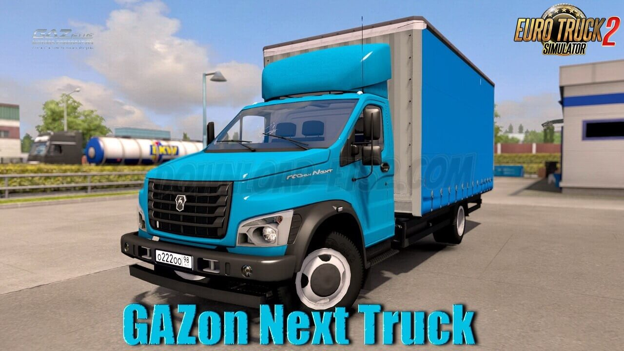 GAZon Next Truck + Interior v2.0 (1.37.x)