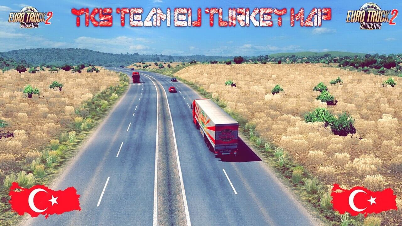 YKS Team Eu Turkey Map v1.0 (1.37.x) for ETS2