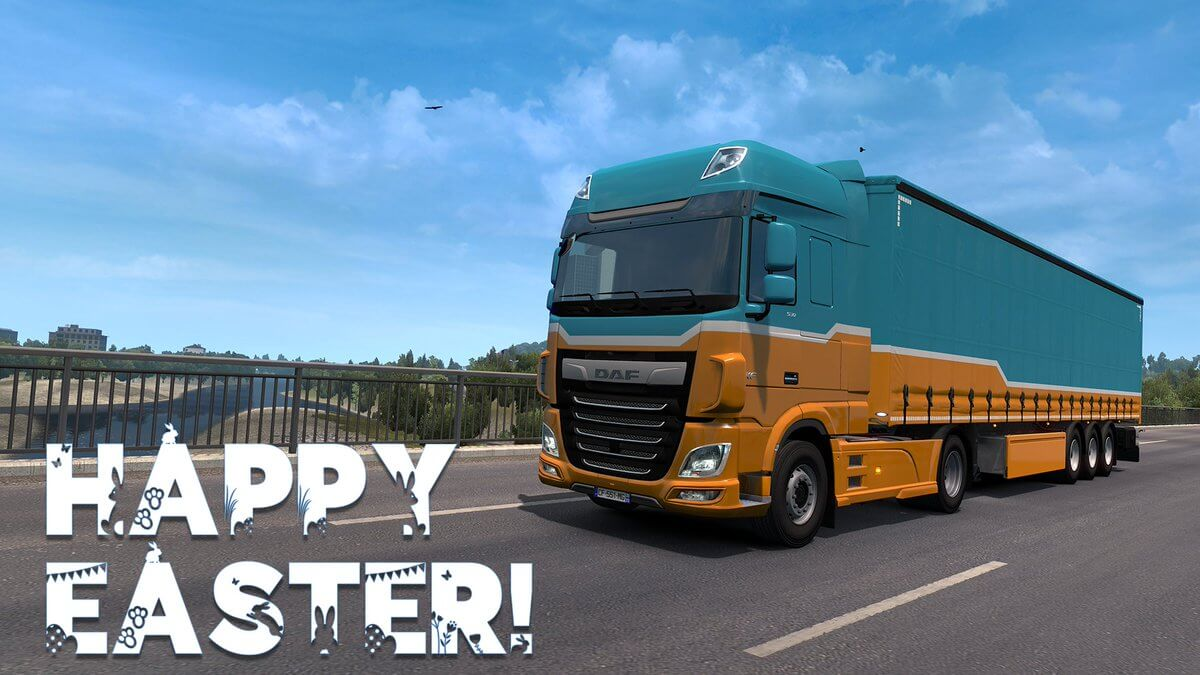 Happy Easter 2020 to All Truckers