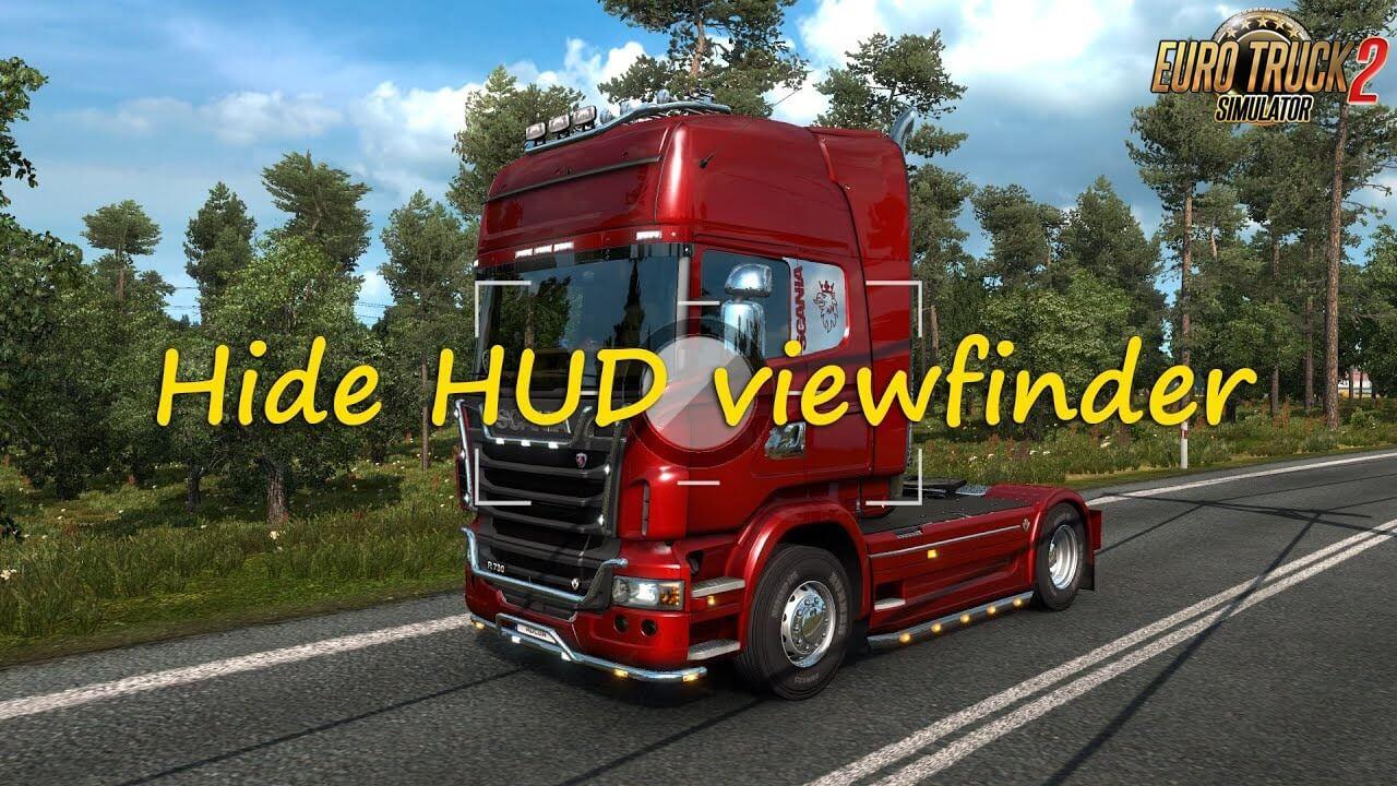 Hide HUD Viewfinder Mod v1.0 by Adega (1.37.x)