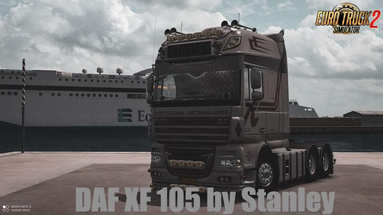 DAF XF 105 v1.7 by Stanley (1.36.x)