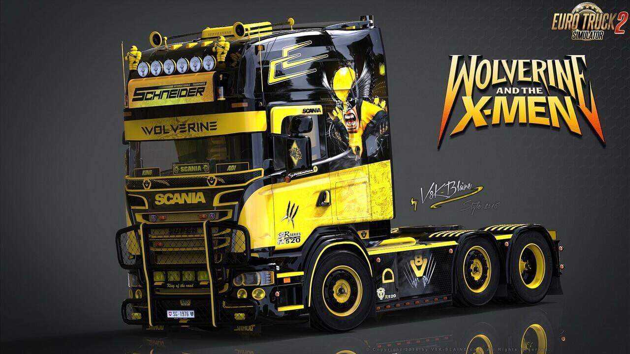 V8K Scania R520 Wolverine Edition v1.0 (1.36.x)