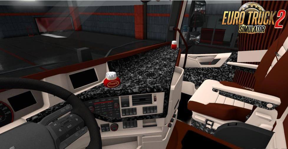 3D Interior for Volvo FH 2016 v1.0 (1.37.x)