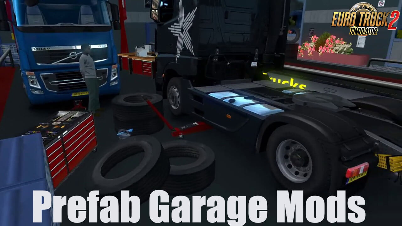 Prefab Garage Mods v2.0 (1.37.x)
