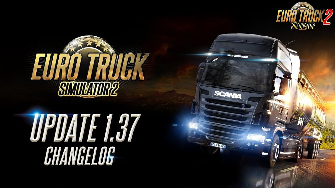 Euro Truck Simulator 2 1.37 Official Release
