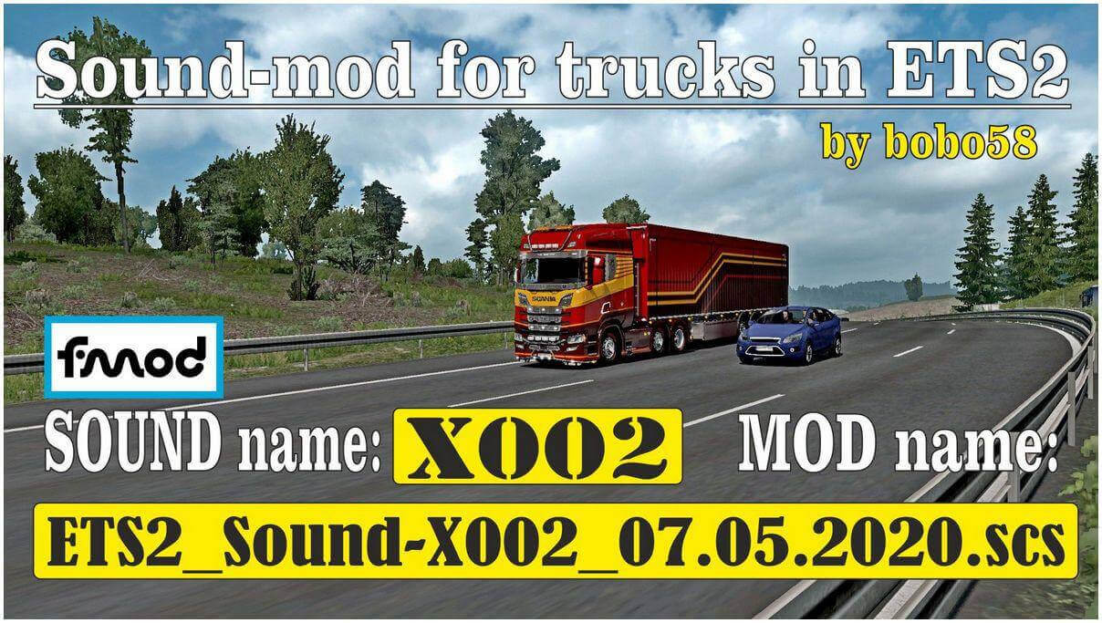 Sound Engine Mod for Trucks v3.0 by bobo58 (1.37.x)
