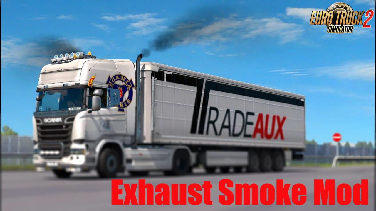Exhaust Smoke Mod v1.0 (1.37.x)