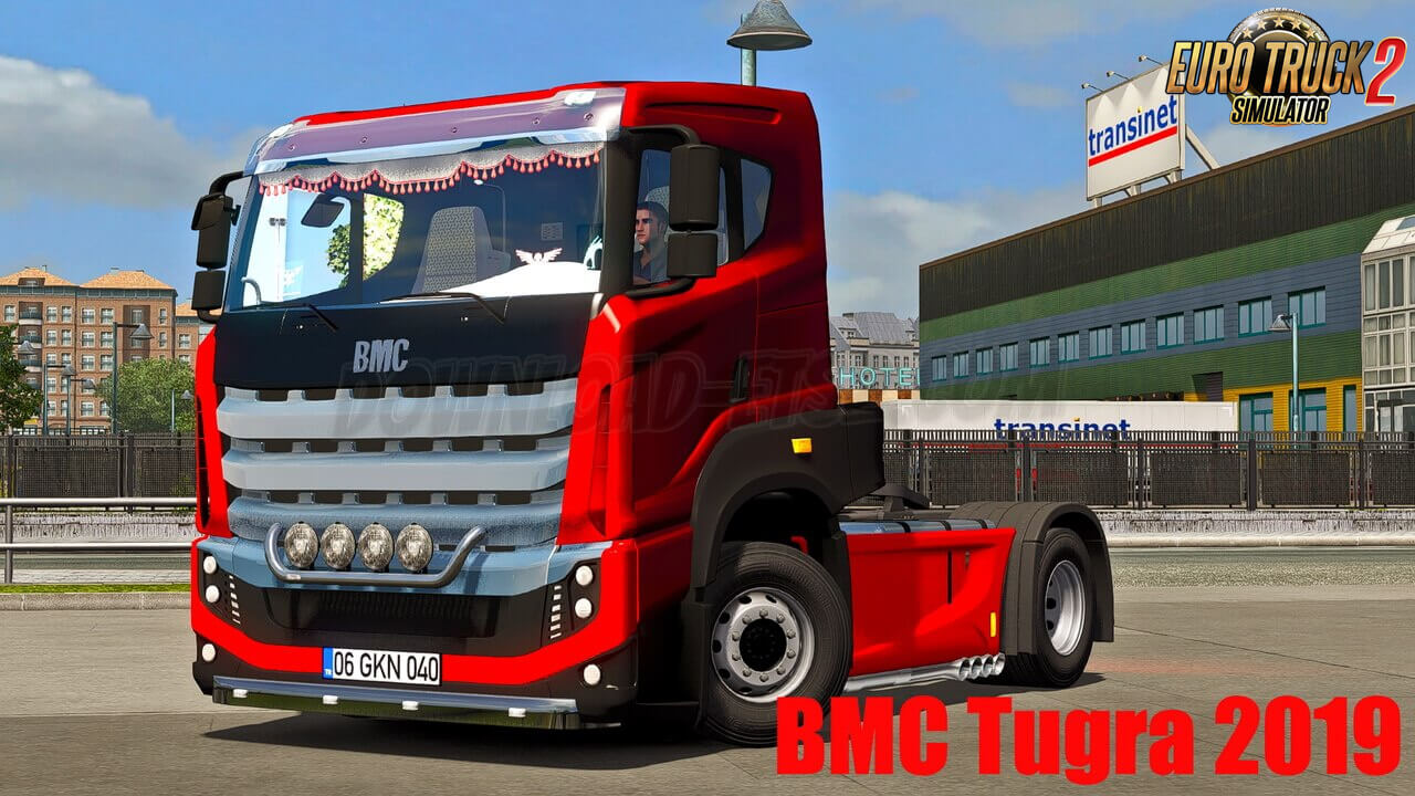 BMC Tugra 2019 Truck + Interior v1.1 (1.39.x) for ETS2
