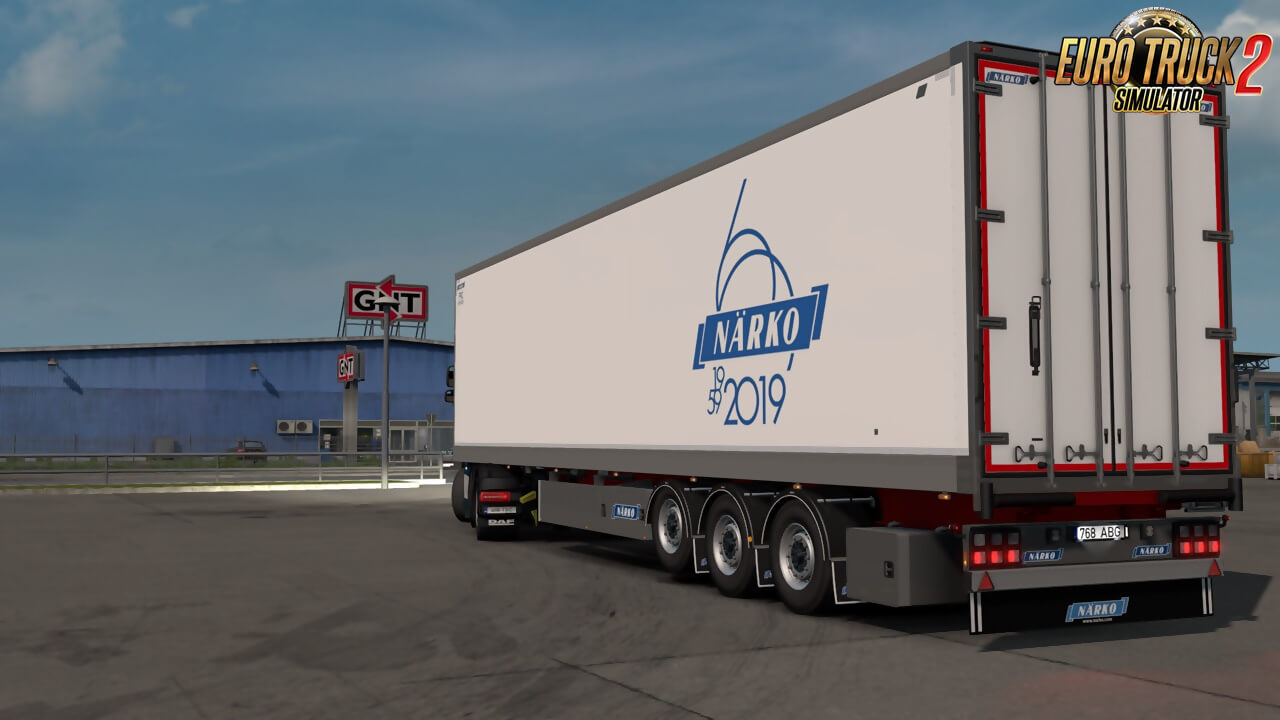 Narko Ownable Trailers v1.2.1 by Kast (1.40.x) for ETS2