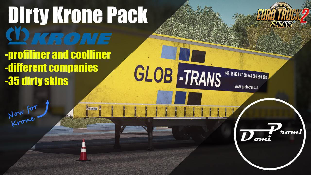 Dirty Krone Pack Skins v1.0 By DomiPromi (1.37.x)