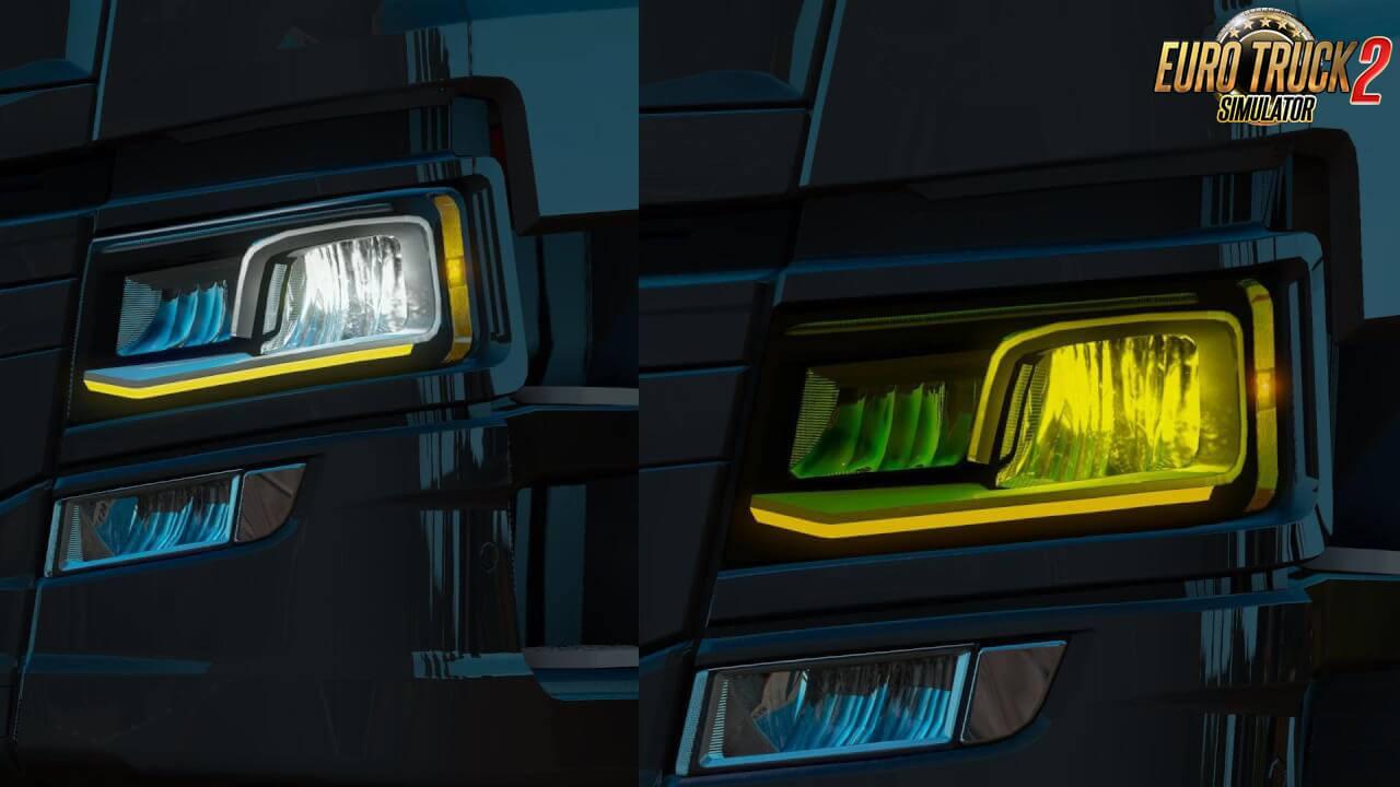 Scania NTG Orange DRL v1.0 (1.37.x)
