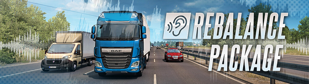 Sounds Rebalance Package for ETS2 and ATS