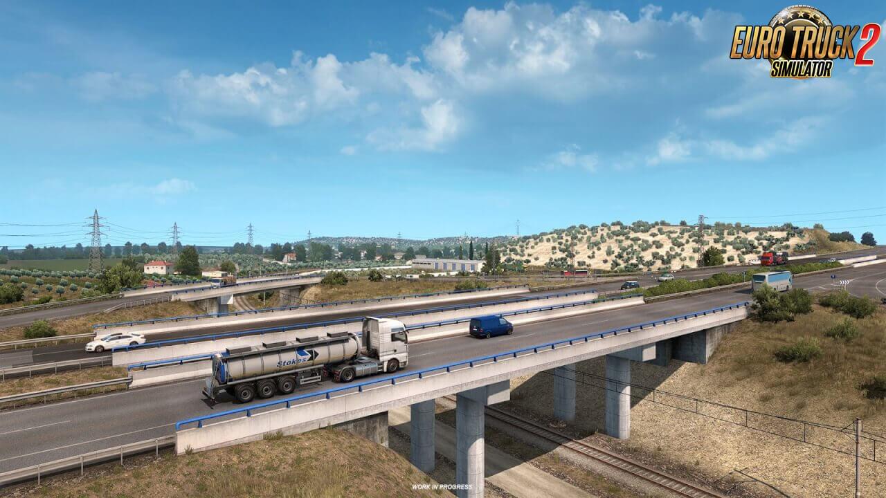 Iberia DLC - Olives for ETS2