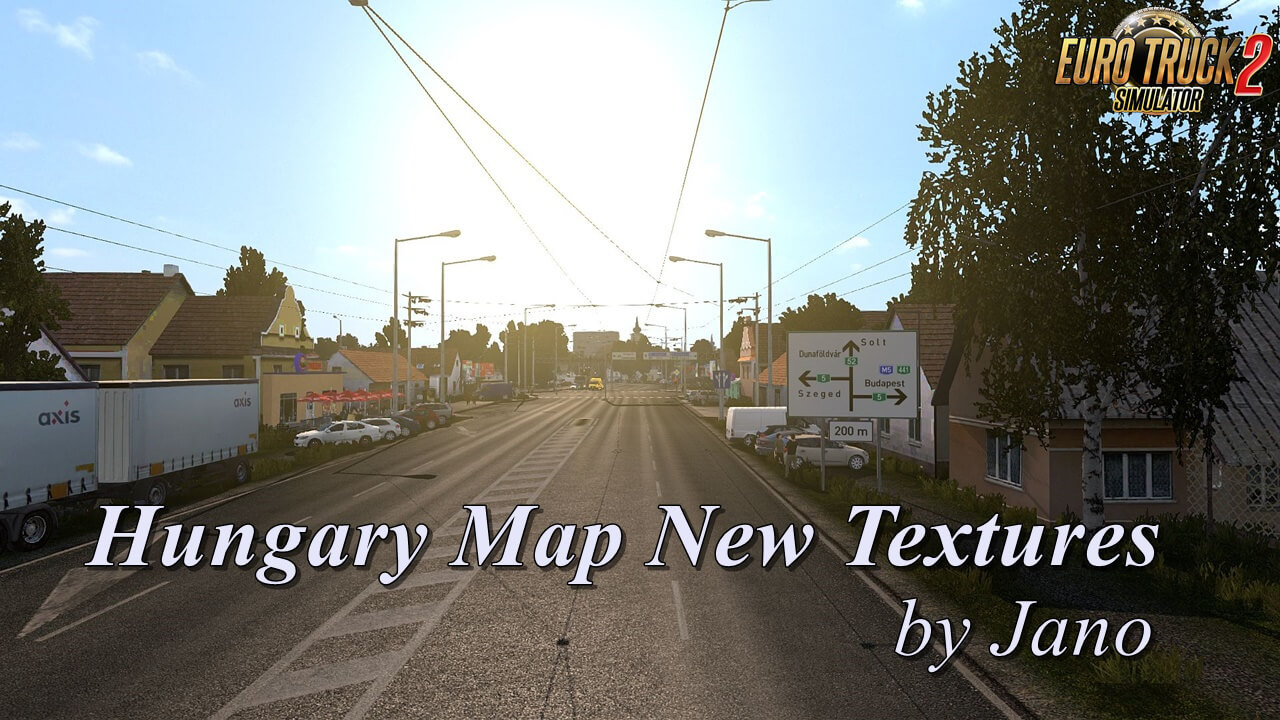 Hungary Map New Textures v1.0.5 by Jano