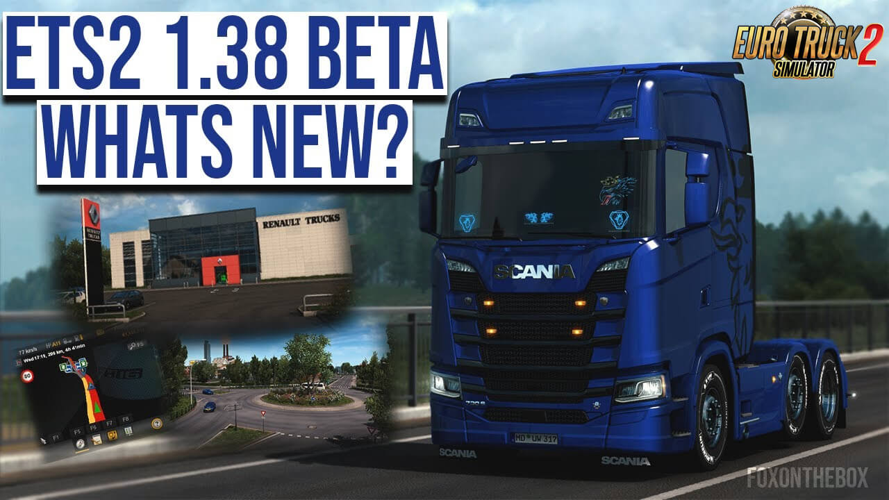 ETS2 1.38 Open Beta -  Euro Truck Simulator 2