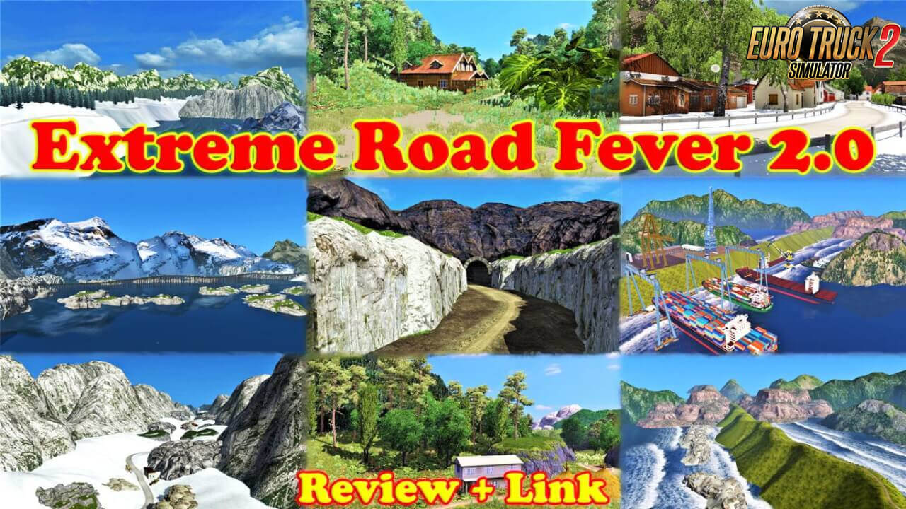 Extreme Road Fever : ERF Map v2.0 (1.37.x)