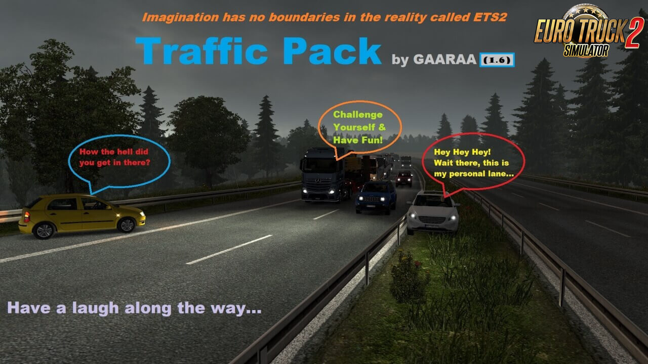 Traffic Pack v1.6 by GAARAA