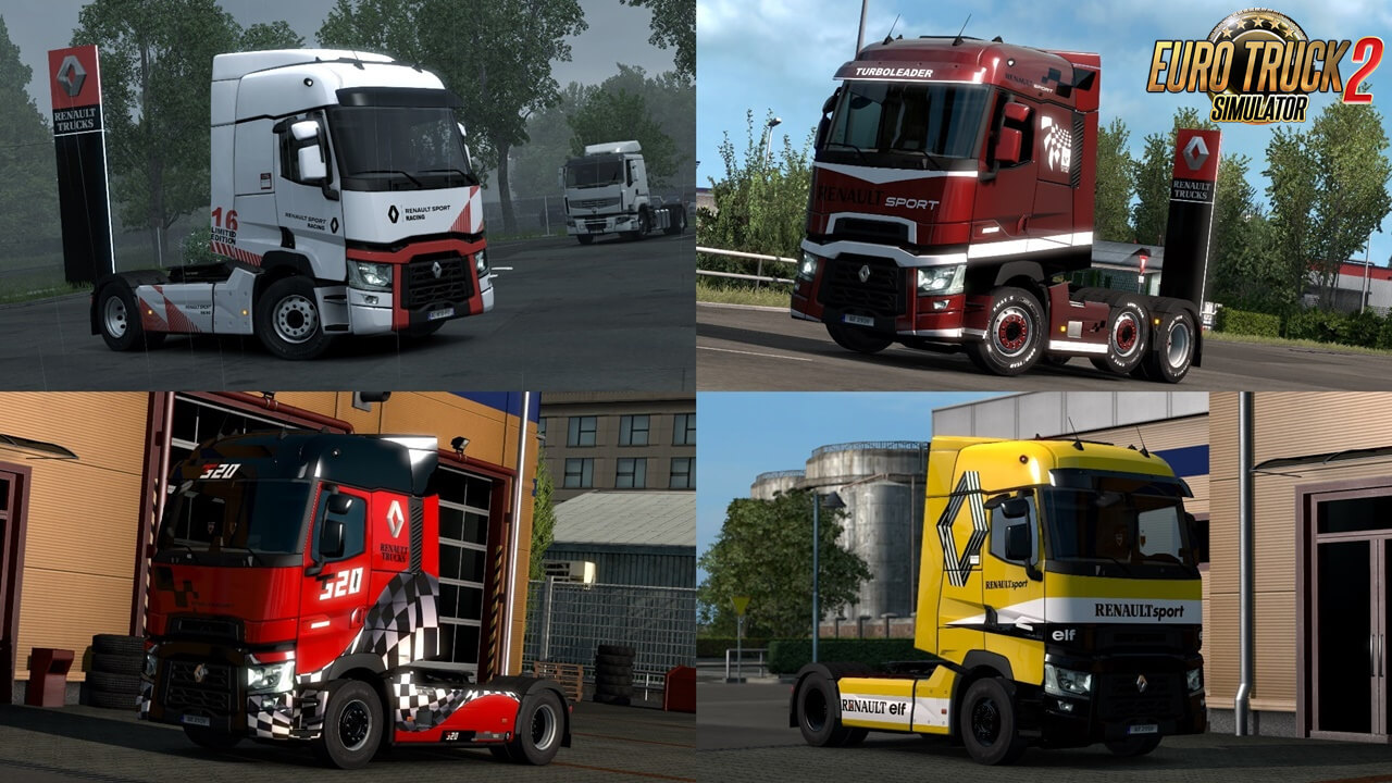 Renault T Truck Skins by Dreamcatcher