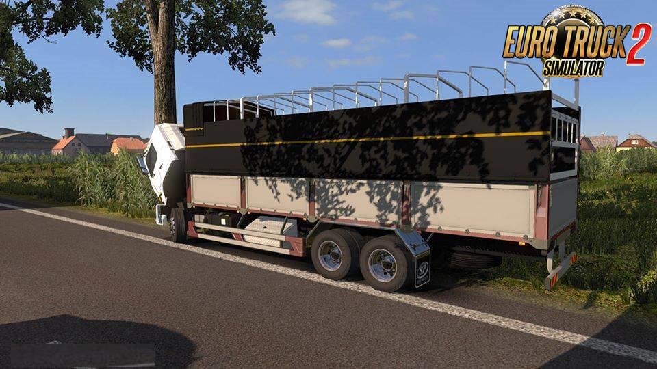 Hino 500 Truck + Interior v1.0 (1.37.x)