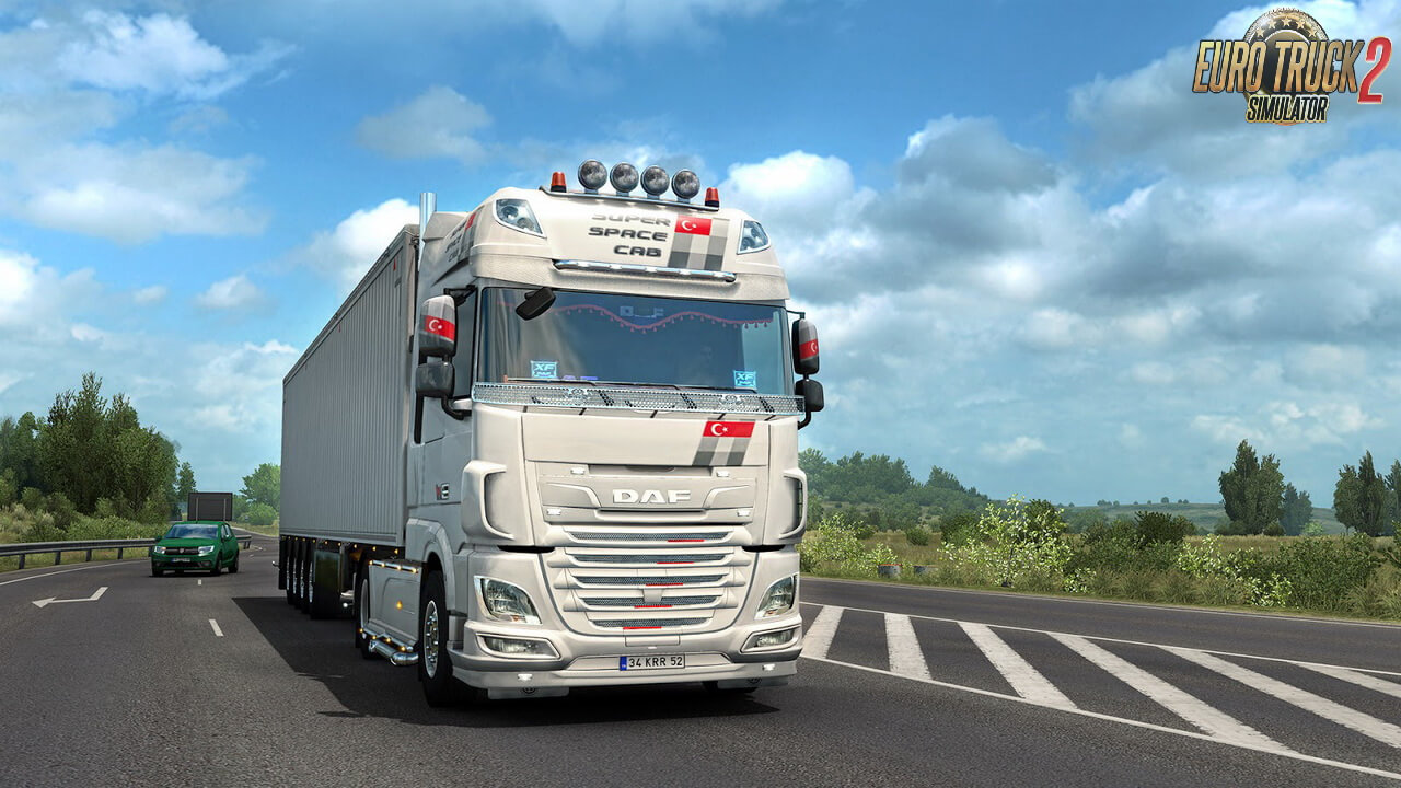 DAF XF Unity Edition for ETS2