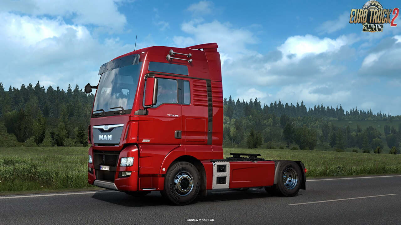 ETS2 1.38 Open Beta - Roof Horns will be added