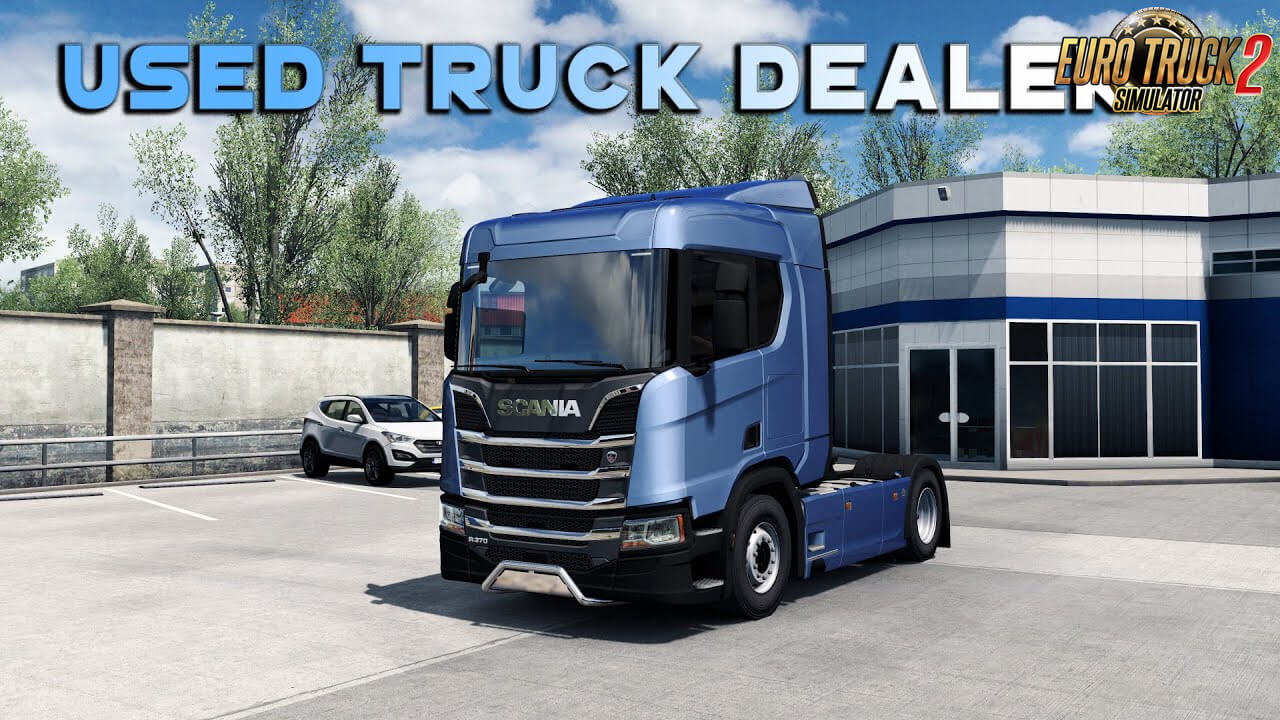Used Truck Dealer and Used trucks in Quickjob v1.2 (1.38.x)