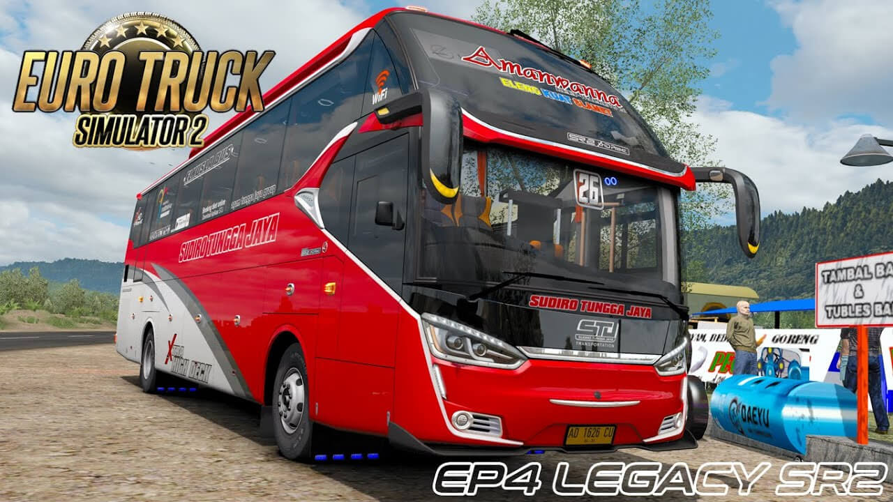 Bus Legacy SR 2 XHD Prime v1.0 by Muhammad Husni (1.37.x)