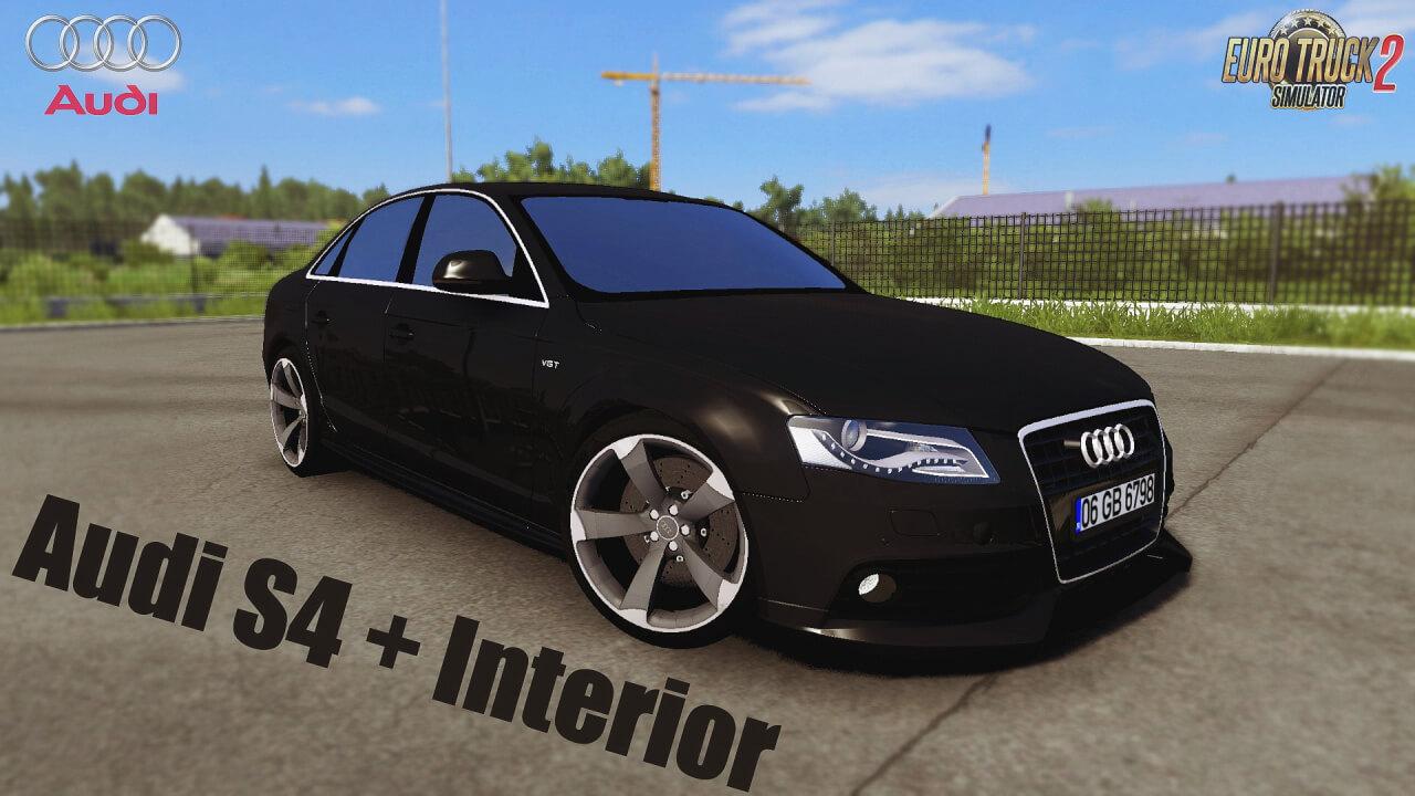 Audi S4 + Interior v2.1 (1.39.x) for ETS2