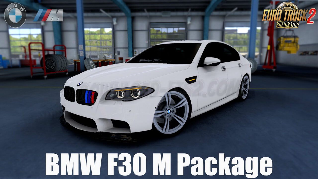 BMW F30 M Package + Interior v1.2 (1.39.x)