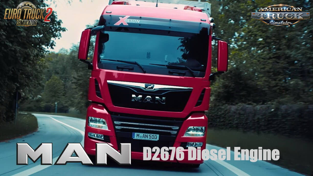 MAN D2676 Diesel Engine v1.1 (1.38.x) for ETS2