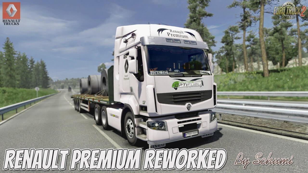 Renault Premium Reworked v4.9 - Euro Truck Simulator 2