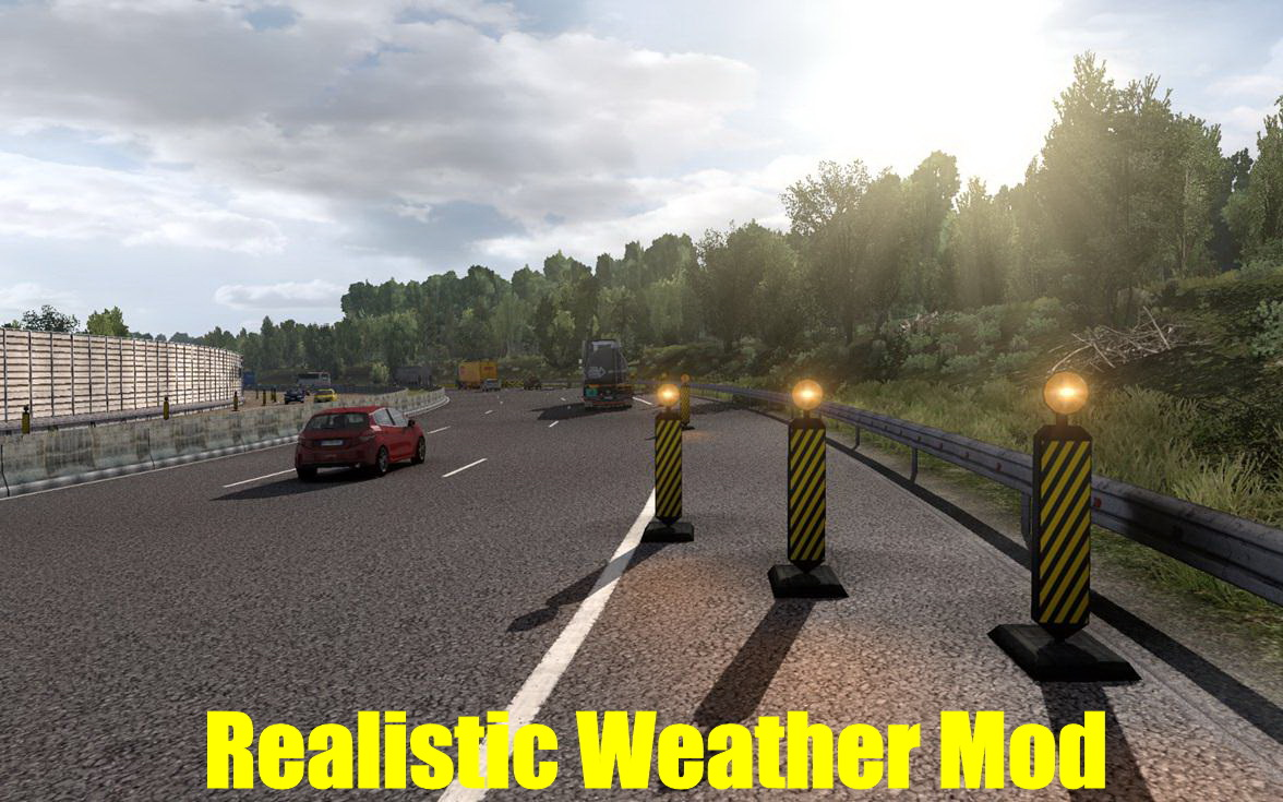 Realistic Weather Mod v1.0 (1.38.x) for ETS2